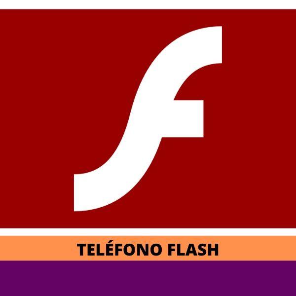 Teléfono Adobe Flash Player